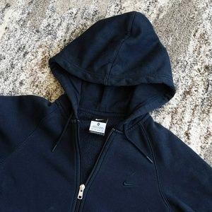 Nike Navy Blue Hoodie - Sz XS